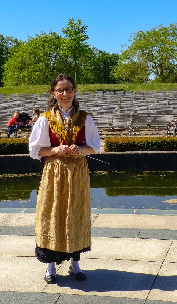 Dirigentin der Stamm- und Jugendkapelle Marion Müller-Eitzenberger