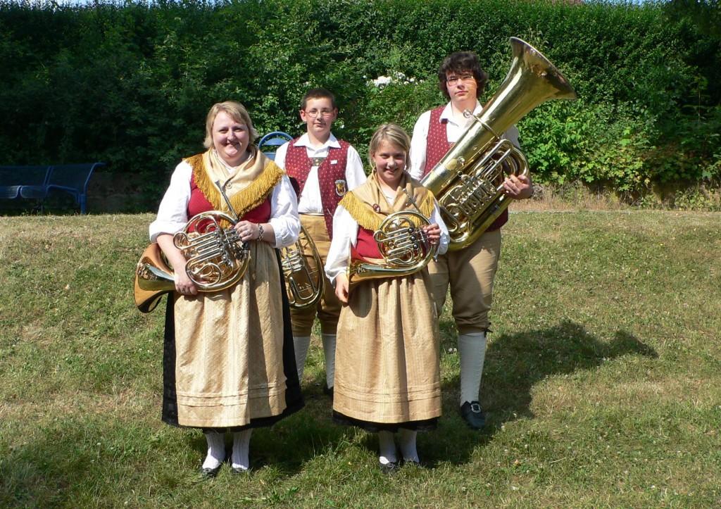 Jugend 2008 Hörner und Tuba