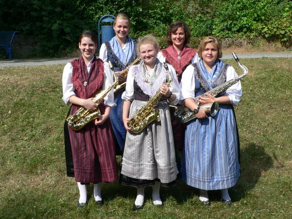 Jugend 2008 Saxophone