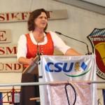Ilse Aigener, Bundesministerin für Ernährung, Landwirtschaft und Verbraucherschutz, bei ihrer Rede