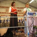 Ilse Aigner mit Europaabgeordnete Monika Hohlmeier