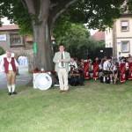Bürgermeister Udo Dauer eröffnet offiziell das Fest und wünscht gutes Gelingen.