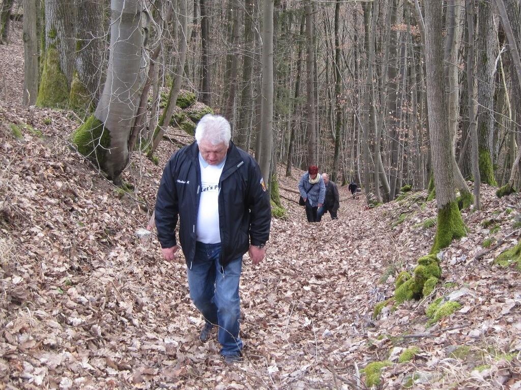 steiler Anstieg nach Frankenberg
