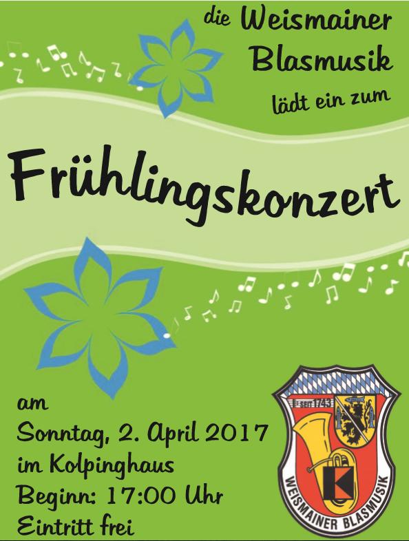 Einladung Frühlingskonzert