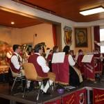 Hauptkapelle mit Dirigent Johannes Haaf