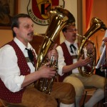 Gesang bei der Lenchen-Polka