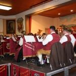 Hauptkapelle mit Dirigent Gerhard Mager