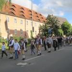 Marsch zur Brauerei Püls