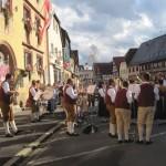 Standkonzert vor dem Rathaus zur Eröffnung der Kirchweih