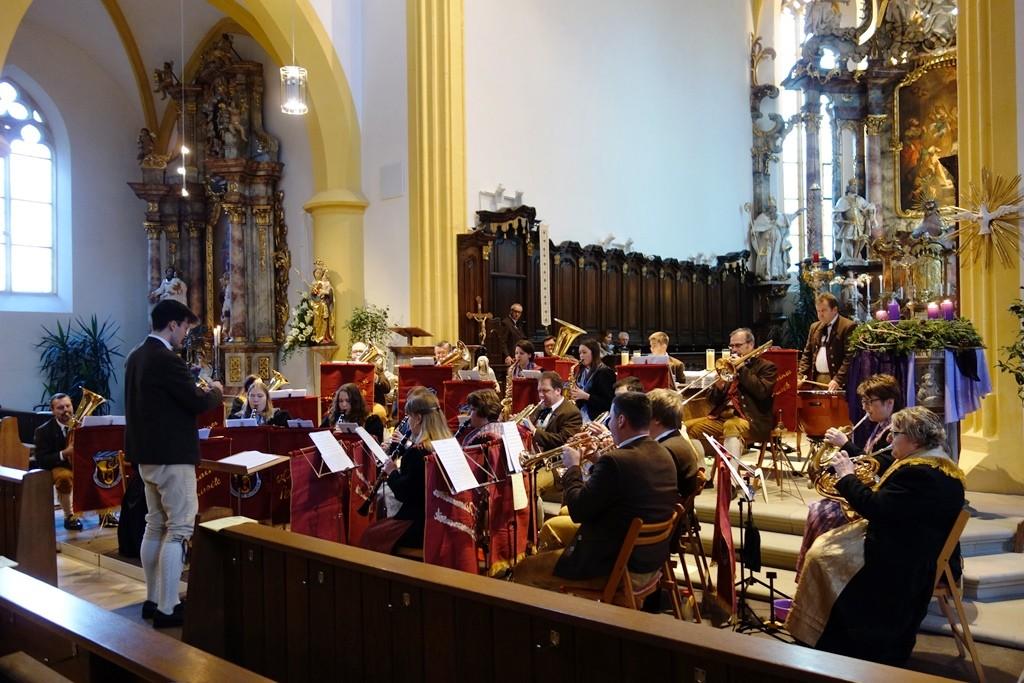 Die Hauptkapelle unter Leitung von Johannes Haaf